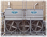 With CleanWater Ozone systems, blowdowns are eliminated from cooling tower maintenance.